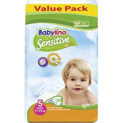 BABYLINO No5 SENSITIVE 11-25Kgr 44τεμ (ΕΛ)