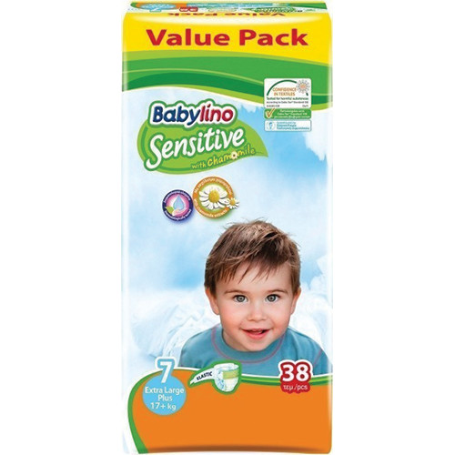 BABYLINO No7 SENSITIVE 17+Kgr 38τεμ (ΕΛ)