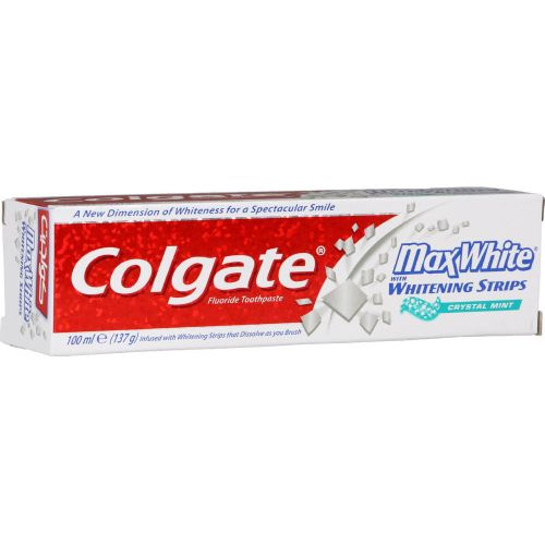 COLGATE οδοντ. max white 100ml crystal mint