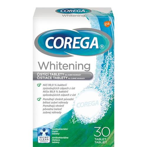 COREGA 30tabs καθαρισμού οδοντοστοιχίας whitening