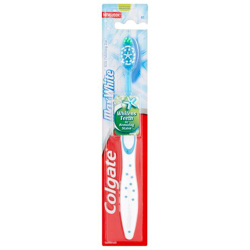 COLGATE οδοντόβουρτσα max white medium