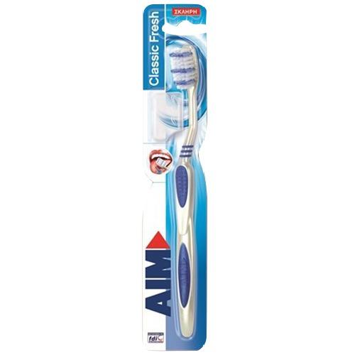 AIM οδοντόβουρτσα classic fresh medium