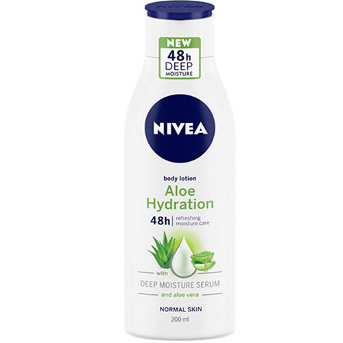 NIVEA body lotion 250ml (ΕΛ) 48h aloe n' hydration