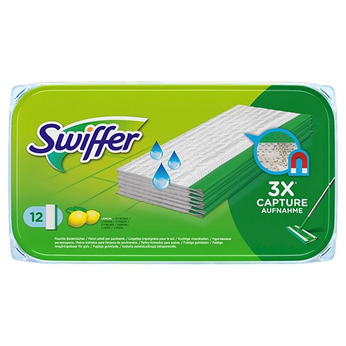 SWIFFER υγρά πανάκια 12τεμ