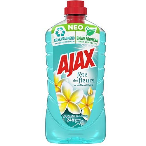 AJAX πάτωμα 1lt (ΕΛ) λουλούδια λίμνης