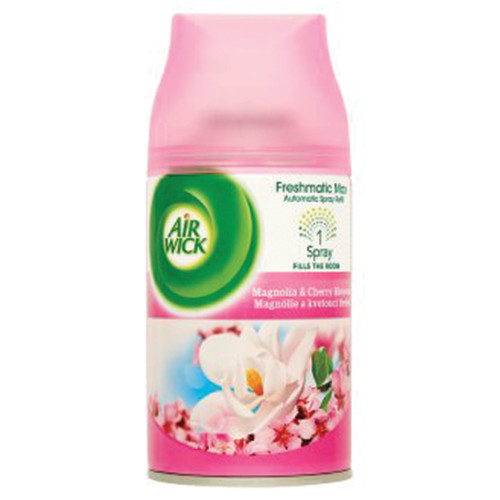 AIRWICK fr.matic αντ. 250ml magnolia n' cherry(EΛ)