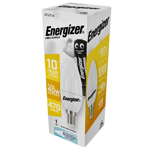 ENERGIZER LED ΚΕΡΙ E14 6/40W DAYLIGHT 6500k