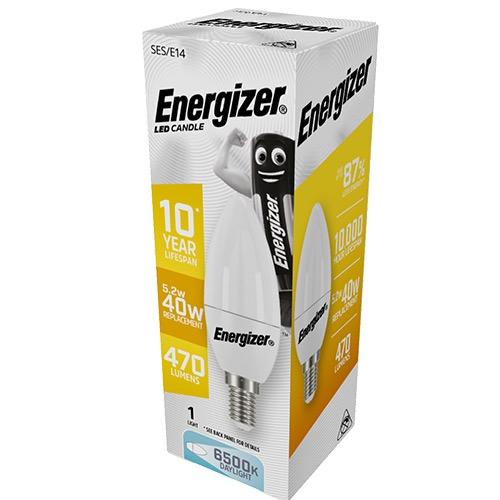 ENERGIZER LED ΚΕΡΙ E14 6/40W DAYLIGHT 6500k