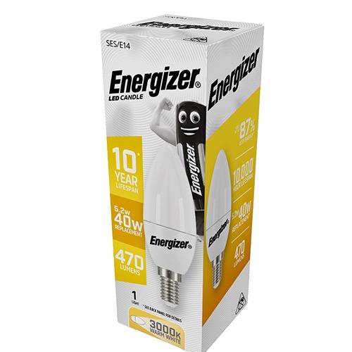 ENERGIZER LED ΚΕΡΙ E14 6/40W WARM WHITE 3000k