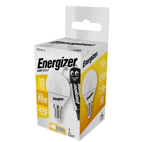 ENERGIZER LED GOLF E14 6/40W WARM WHITE 3000k