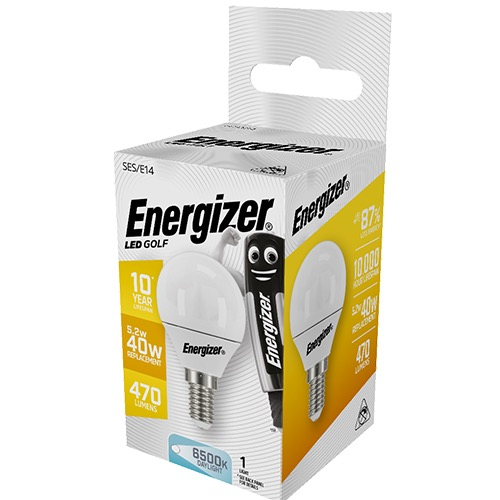 ENERGIZER LED GOLF E14 6/40W DAYLIGHT 6500k
