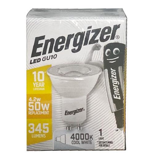 ENERGIZER LED GU10 WARM WHITE 3000k