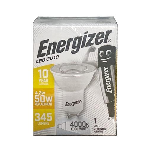ENERGIZER LED GU10 DAYLIGHT 4000k