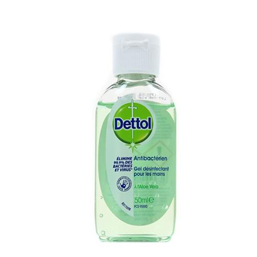 DETTOL hand gel αντισηπτικό 50ml aloe