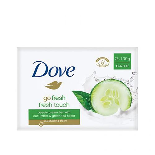 DOVE σαπούνι 2Χ100γρ go fresh