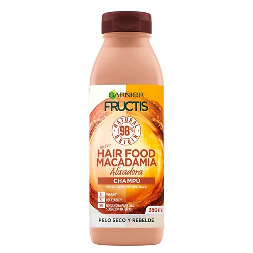 FRUCTIS shampoo hairfood 350ml (ΕΛ) macadamia