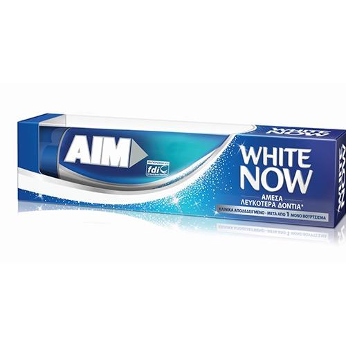 AIM οδοντ 75ml (ΕΛ) white now