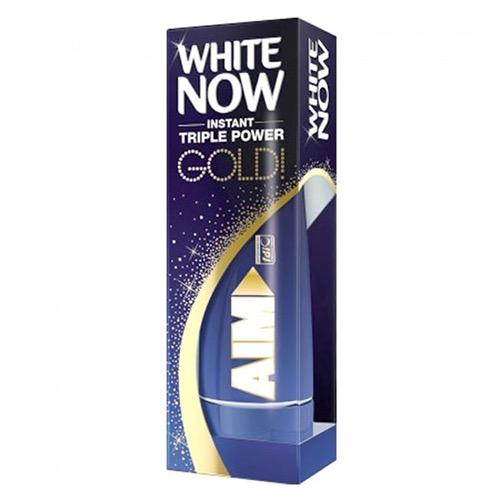 AIM οδοντ 75ml (ΕΛ) white now gold