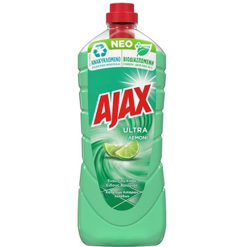 AJAX 950ml πατ. lemon