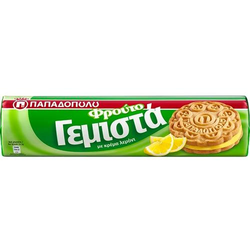 ΠΑΠΑΔΟΠΟΥΛΟΥ ΓΕΜΙΣΤΑ 200γρ (ΕΛ) λεμόνι