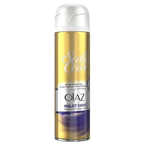 GILLETTE satin care woman gel 200ml violet olay