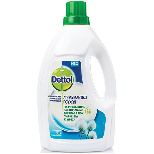 DETTOL υγρό απολυμαντικό ρούχων 1,5lt (ΕΛ)