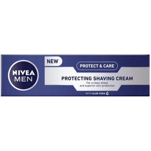 NIVEA FOR MEN κρέμα ξυρίσμ 100ml ΕΛ protect n'care