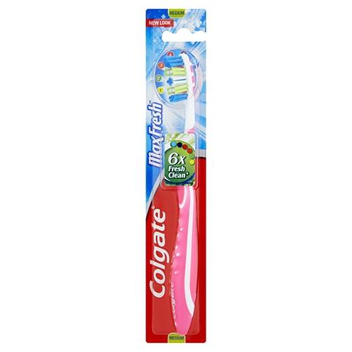 COLGATE οδοντόβουρτσα max fresh medium