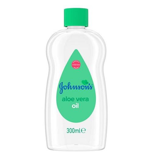 JOHNSON'S baby oil 300ml aloe