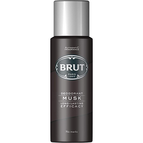 BRUT deo spray 200ml (ΕΛ) musk