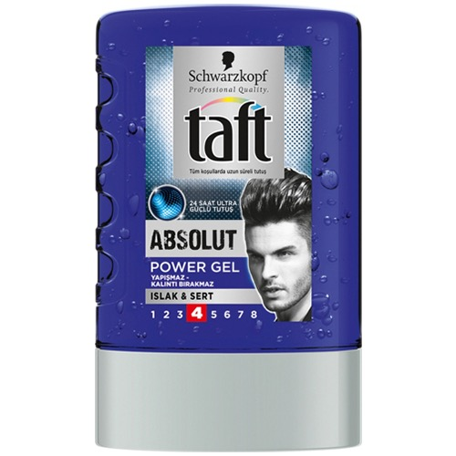 TAFT Megagel 300ml absolute No4