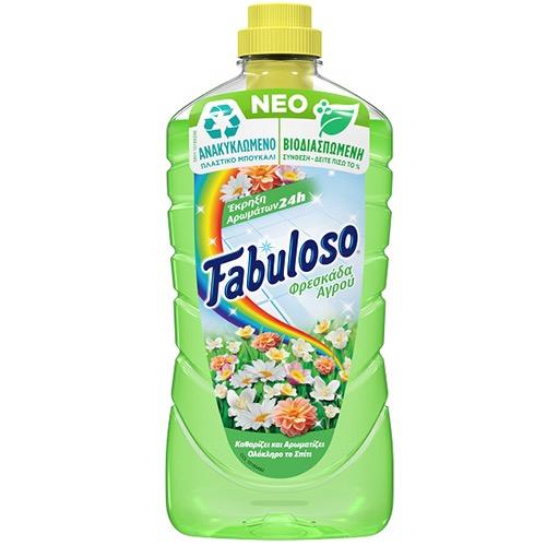 FABULOSO πάτωμα 1lt (ΕΛ) φρέσκα του αγρού