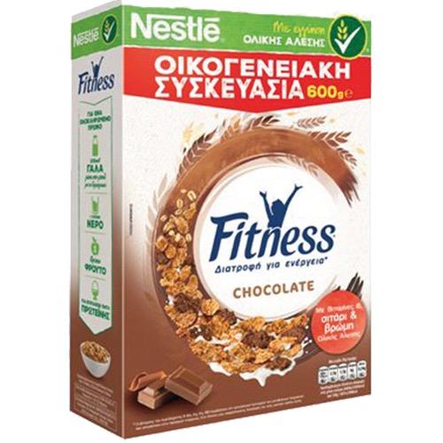 FITNESS δημητριακά 600γρ ολικής (ΕΛ) σοκολάτα