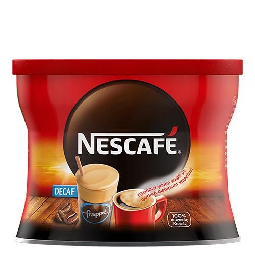 NESCAFE CLASSIC 100gr (ΕΛ) decaffeine