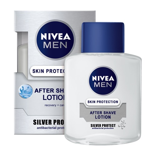 AFTER SHAVE NIVEA lotion 100ml silver protect