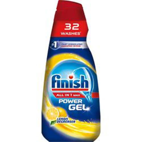 FINISH GEL all in 1 26+6μεζ 650ml lemon