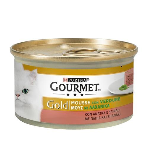 GOURMET GOLD mousse 85gr πάπια