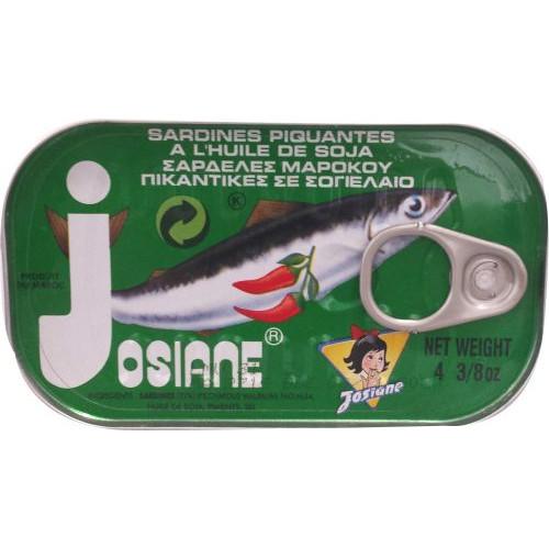 ΣΑΡΔΕΛΑΚΙ JOSIANE 125gr (ΕΛ) πικάντικες