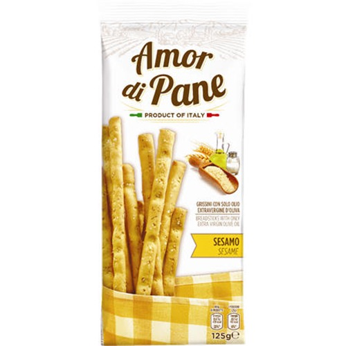 ΚΡΙΤΣΙΝΙΑ AMOR DI PANE 125gr (ΕΛ) sesame
