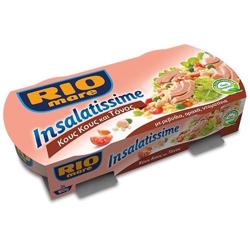 RIO MARE πολυσαλάτα 2Χ160gr (ΕΛ) κους κους