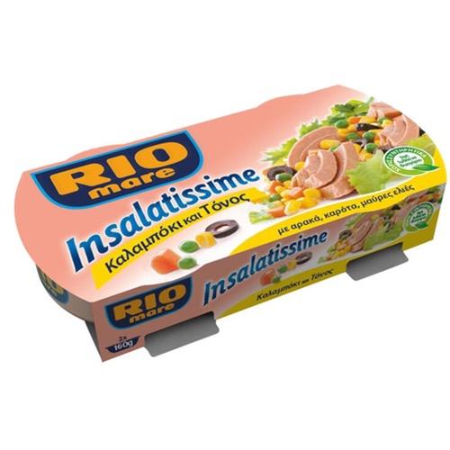 RIO MARE πολυσαλάτα 2Χ160gr (ΕΛ) καλαμπόκι