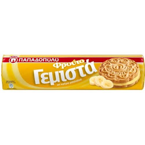 ΠΑΠΑΔΟΠΟΥΛΟΥ ΓΕΜΙΣΤΑ 200γρ (ΕΛ) μπανάνα