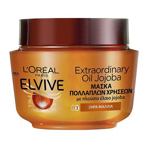 ELVIVE μάσκα μαλλιών 300ml (ΕΛ) oil jojoba
