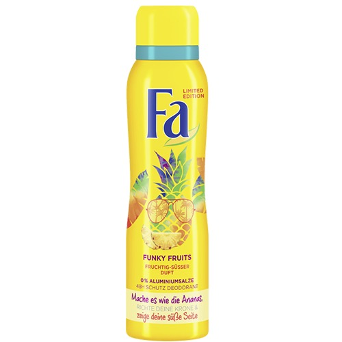 FA spray women 150ml tutti frutti