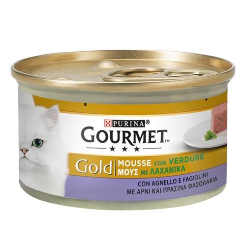 GOURMET GOLD mousse 85gr αρνί-πρασ φασόλια