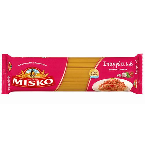 ΜΙΣΚΟ spaghetti No6 500gr (ΕΛ)