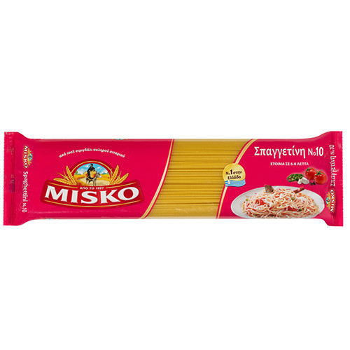 ΜΙΣΚΟ spaghettini No10 500gr (ΕΛ)