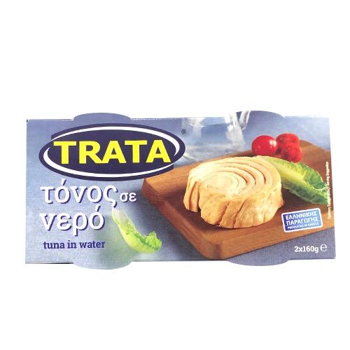 ΤΡΑΤΑ ΤΟΝΟΣ ΣΕ ΝΕΡΟ 2Χ160γρ (ΕΛ)