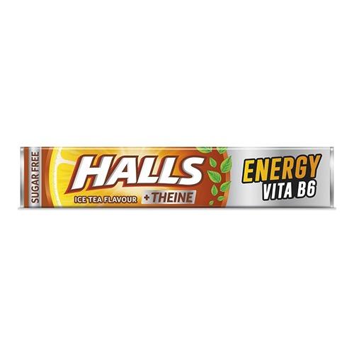 HALLS 32gr 20 καραμέλεs ice tea λεμόνι (ΕΛ)
