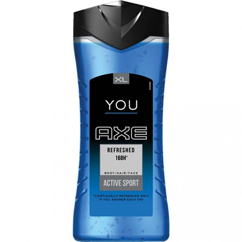 AXE shower gel 250ml refreshed 3in1